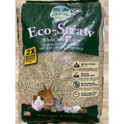 Oxbow Eco-Straw Pelleted Wheat Straw Small Animal Litter 20lbs
