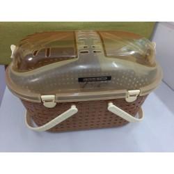 Second-hand IRIS Mesh Basket Pet Carrier MPC-450 (Brown)