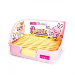 "Alice ""Gabitto"" Sloping Rabbit Toilet - ( Pink )"