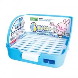 "Alice ""Gabitto"" Sloping Rabbit Toilet - ( Blue )"