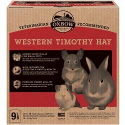 Oxbow Western Timothy Hay 9lbs