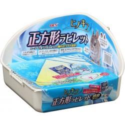 Gex Hinokia Toilet Set - Square ( White )