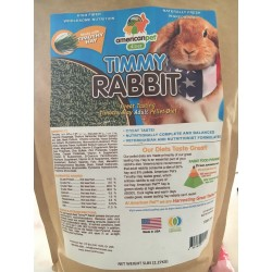 American Pet Diner Timmy Rabbit Food for Adult Rabbits 5LBS