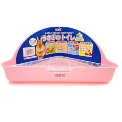 GEX Triangular toilet (pink)