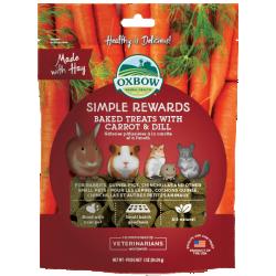 Oxbow Carrot & Dill Baked Treats 3oz