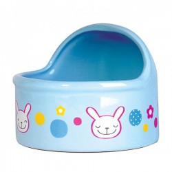 Jolly Blue Dome Feeding Bowl - Large