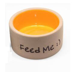 OIC Ceramic Feed Me Bowl