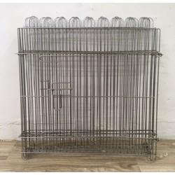 Pet fence (6pcs) Silver color
