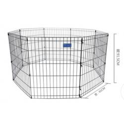 Pet fence (8pcs) Black color