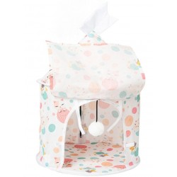 彩色貓貓帳篷