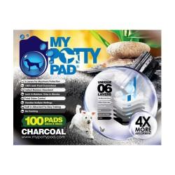 My Potty Pad Pet Sheets - Charcoal(33x45cm) 100pads