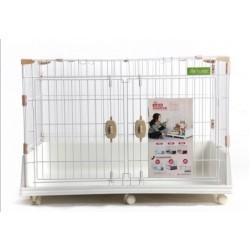 豪華雙門籠(白)(86x61x69cm)