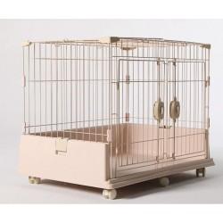 豪華雙門籠(卡其)(86x61x69cm)