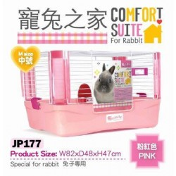 Charity Sale- Jolly JP177 Rabbit Cage (Pink)